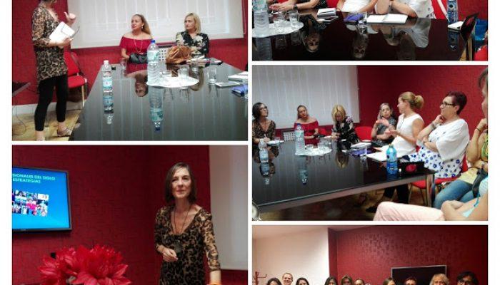 Taller de Coaching con mujeres empresarias. AMEIB-Pachamama